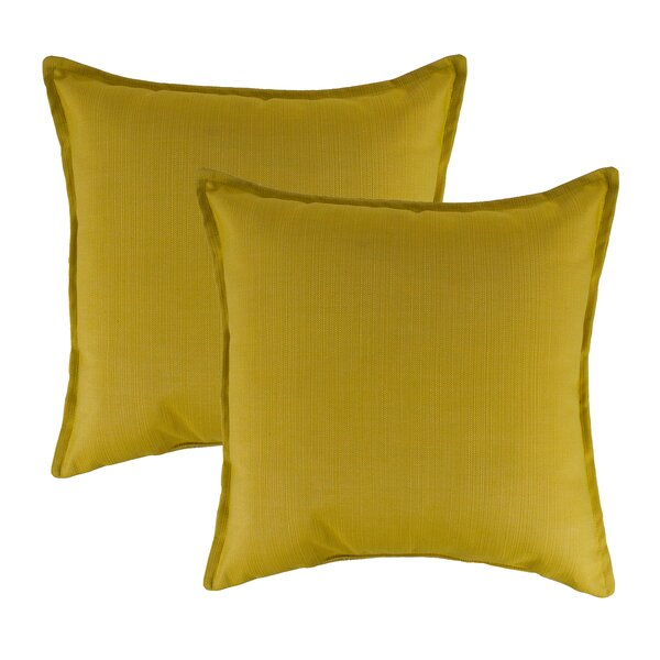 Echo Outdoor Sunbrella Throw Pillow (Set of 2) by Austin Horn Classics