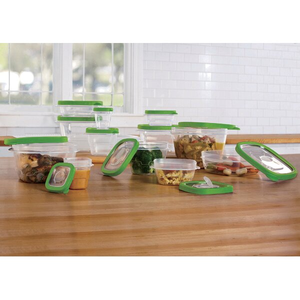 12 Container Food Storage Set with Vent Lids by Symple Stuff