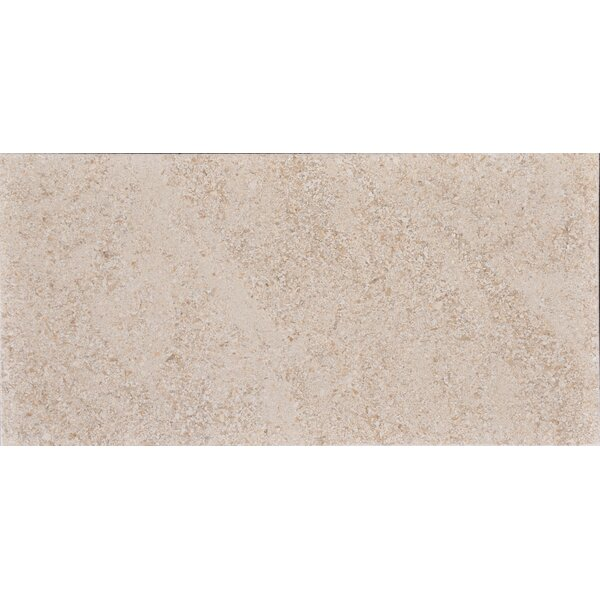 12 x 24 Limestone Field Tile in Sable by The Bella Collection