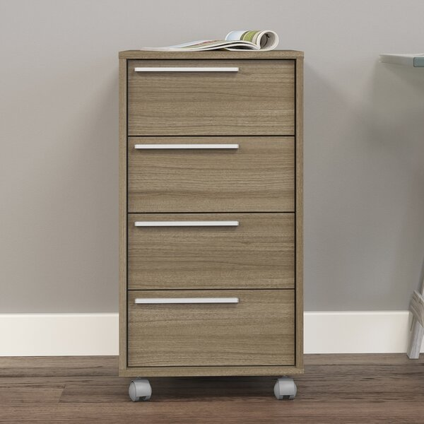 Hadley 4-Drawer Vertical Filing Cabinet by Zipcode