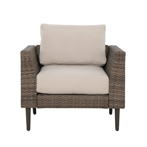 Gainell Patio Chair with Cushions Set by Latitude Run