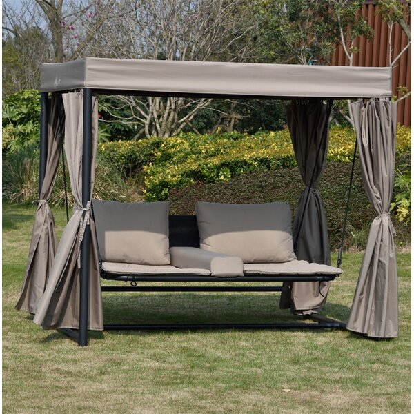 Schwindt Sun Lounger Set with Cushion by Canora Grey