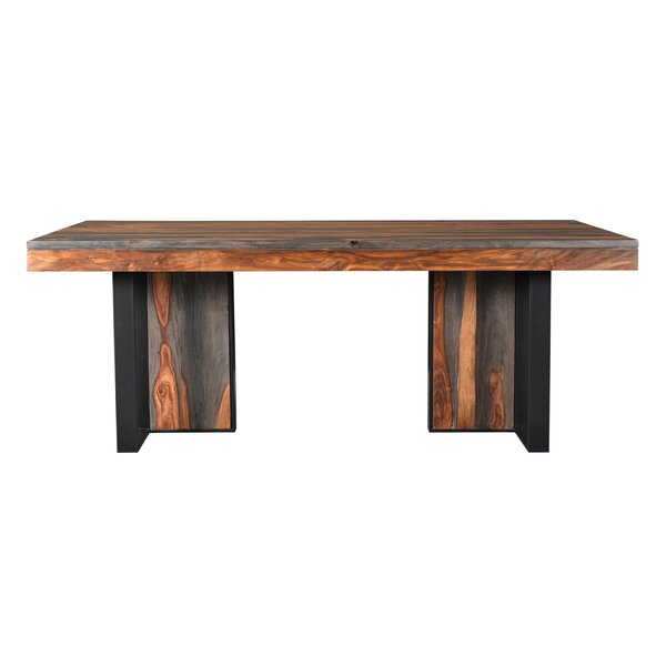 Fredson Solid Wood Dining Table by Bloomsbury Market