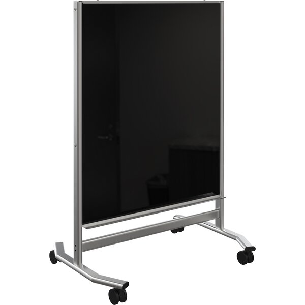 Visionary Free-Standing Glass Board, 72.25 x 36 by Best-Rite®