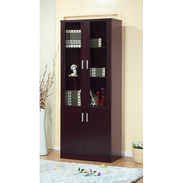 Teegan Contemporary Standard Bookcase by Latitude Run
