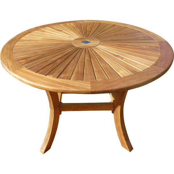 Kingon Sun Teak Dining Table by Darby Home Co