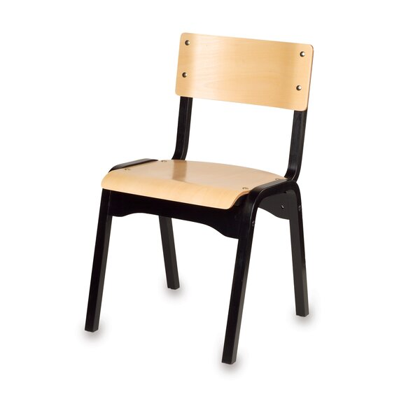18 Solid Wood Classroom Chair by Holsag