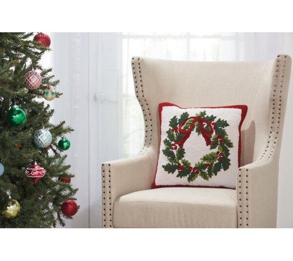 Home for the Holidays Throw Pillow by The Holiday Aisle