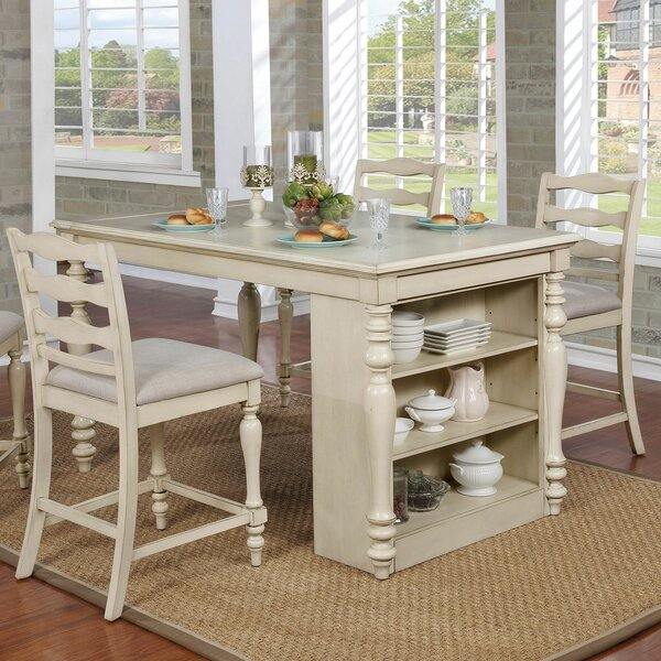 Colter Counter Height Dining Table By Rosecliff Heights Comparison