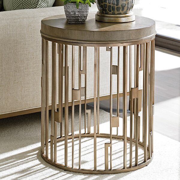 Shadow Play Studio End Table by Lexington