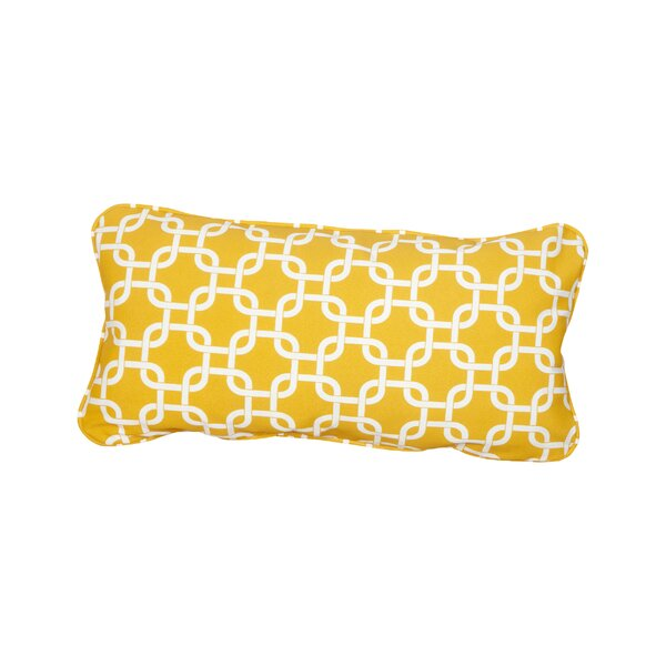 Stella Knotted Indoor/Outdoor Lumbar Pillow (Set of 2) by Mozaic Company