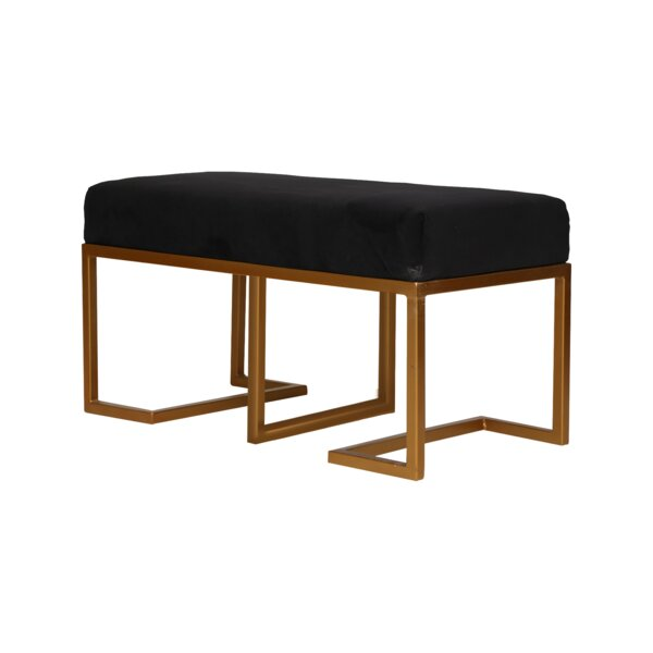 Paulita Upholstered Bench By Mercer41 by Mercer41 Savings