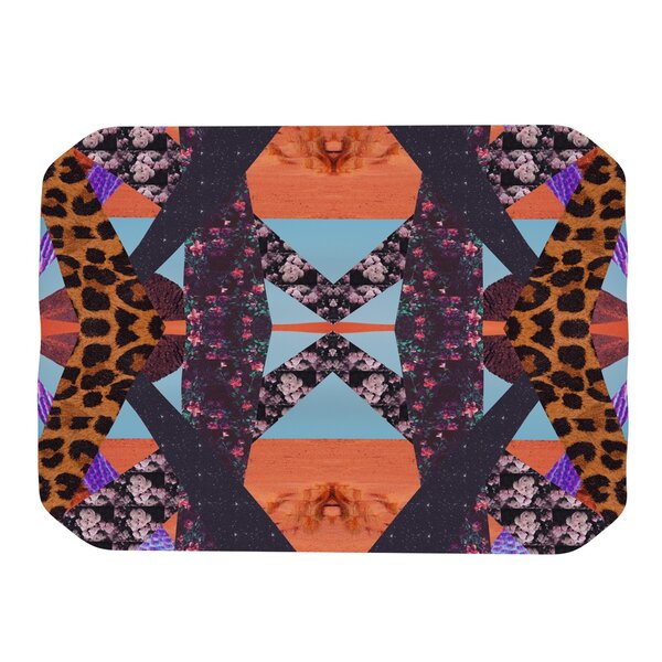 Pillow Kaleidoscopic Placemat by KESS InHouse