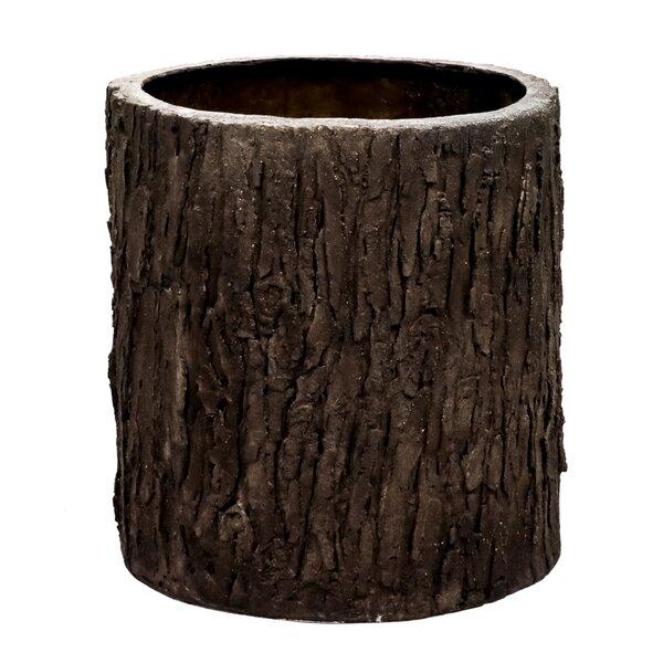 Tilden Oak Bark Pot Planter by Millwood Pines