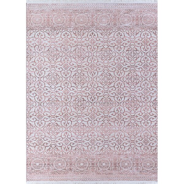 Bergeron Pink Area Rug by Bungalow Rose
