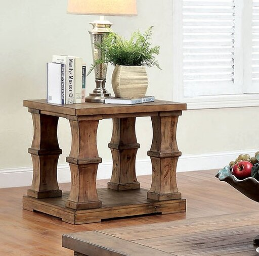 Charlotte End Table by Gracie Oaks