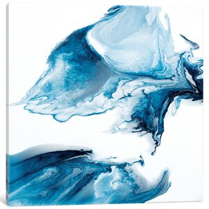 'Drift XVII' Painting Print on Canvas by East Urban Home