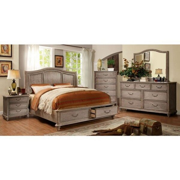 Viviano 5 Piece Bedroom Set by Canora Grey