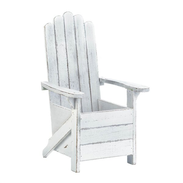 Adirondack Chair Wood Planter Box by Zingz & Thingz