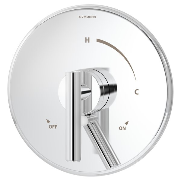 Dia Pressure Balance Shower Valve Trim with Lever Handle by Symmons