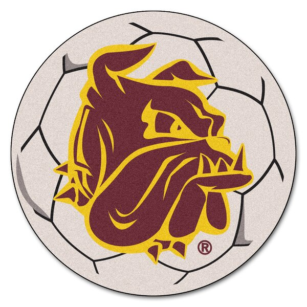 NCAA University of Minnesota-Duluth Soccer 0.25 in. x 27 in. Non-Slip Indoor Only Mat