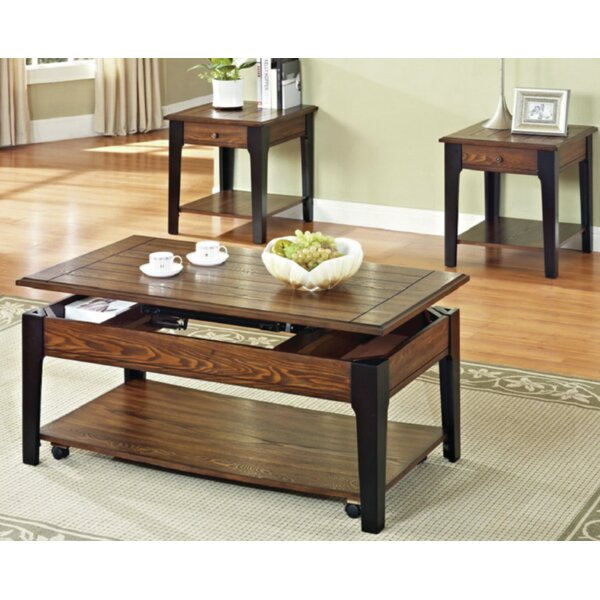 Rogersville 3 Piece Coffee Table Set By Canora Grey