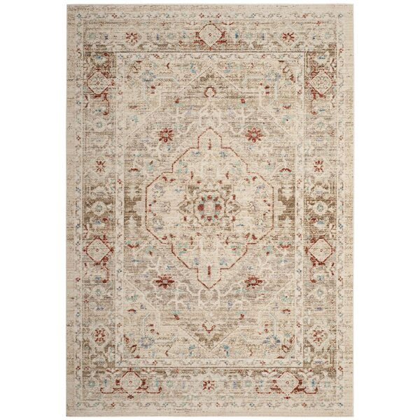 Chauncey Ivory Area Rug by Bungalow Rose