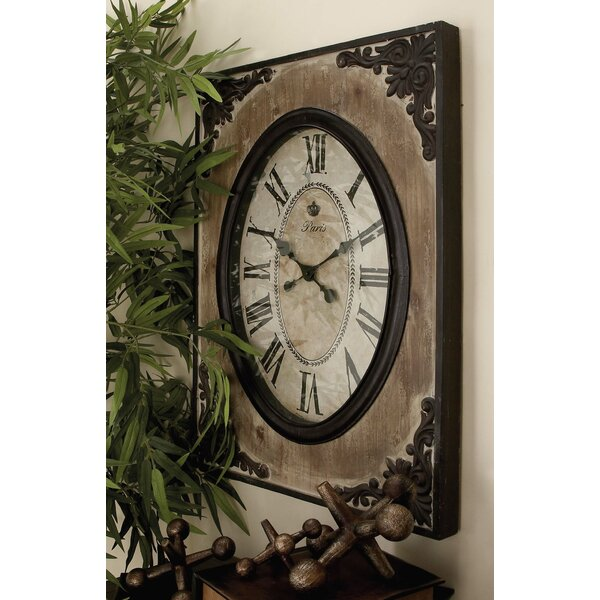 Wood Wall Clock by Cole & Grey