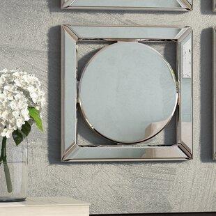 Red Barrel Studio Square Hanging Accent Mirror