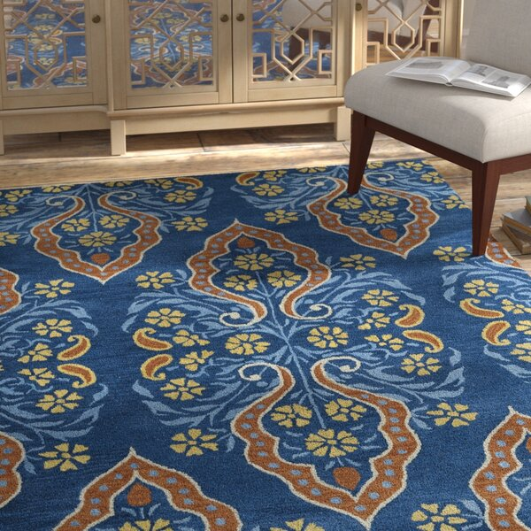 Jefferson Hand-Tufted Area Rug by Bungalow Rose