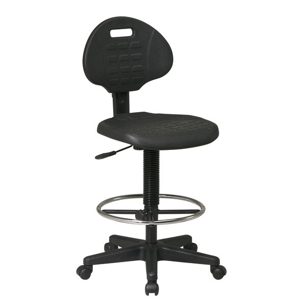 Work Smart Low-Back Drafting Chair by Office Star Products