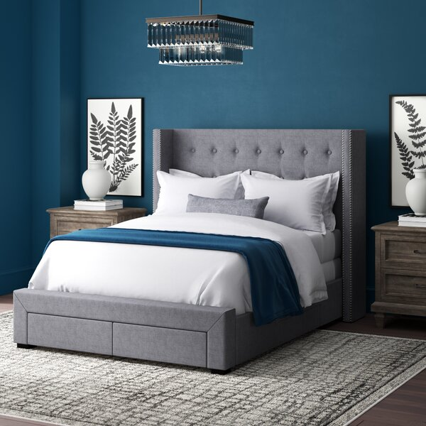 Kerens Tufted Upholstered Storage Standard Bed By Greyleigh