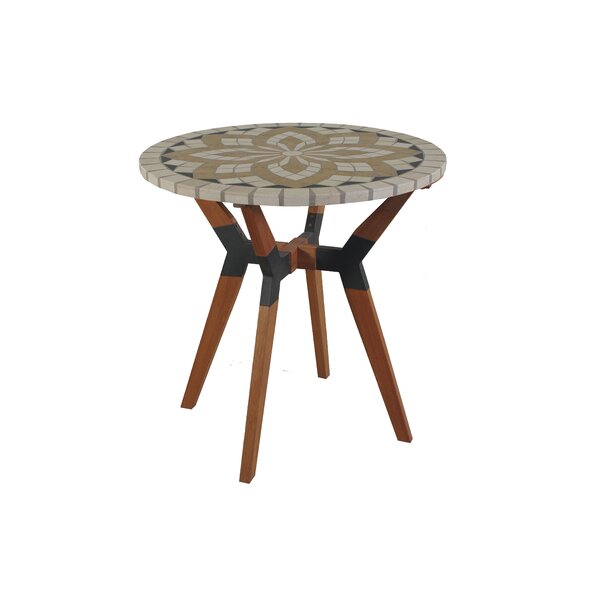Rhett Teak Bistro Table by Langley Street