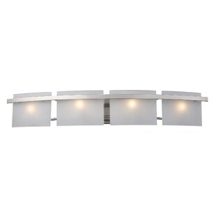 Inexpensive Comp 4-Light Bath Bar By Ebern Designs