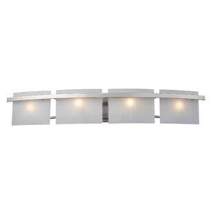 Buy clear Comp 4-Light Bath Bar By Ebern Designs
