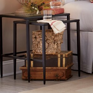 Clear Nesting Tables Youll Love Wayfair - Clear nesting tables
