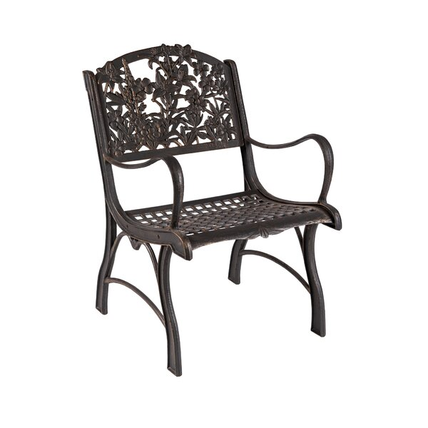 Millan Wildflower Patio Chair by Canora Grey