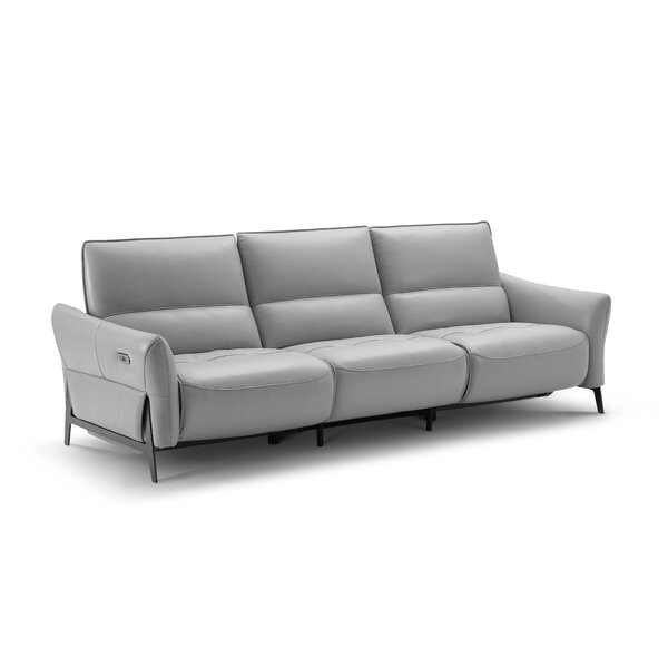Looking for Branchdale Leather Reclining Sofa By Orren Ellis Cheap
