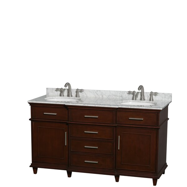 Berkeley 60 Double Bathroom Vanity Set by Wyndham Collection