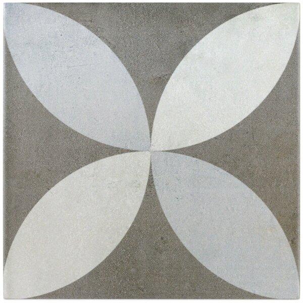 Anabella 9 x 9 Porcelain Field Tile in Saatchi by Splashback Tile