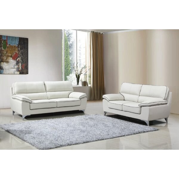 Alena 2 Piece Living Room Set (Set of 2) by Orren Ellis