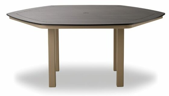 Marine Grade Polymer Hexagonal Dining Table by Telescope Casual