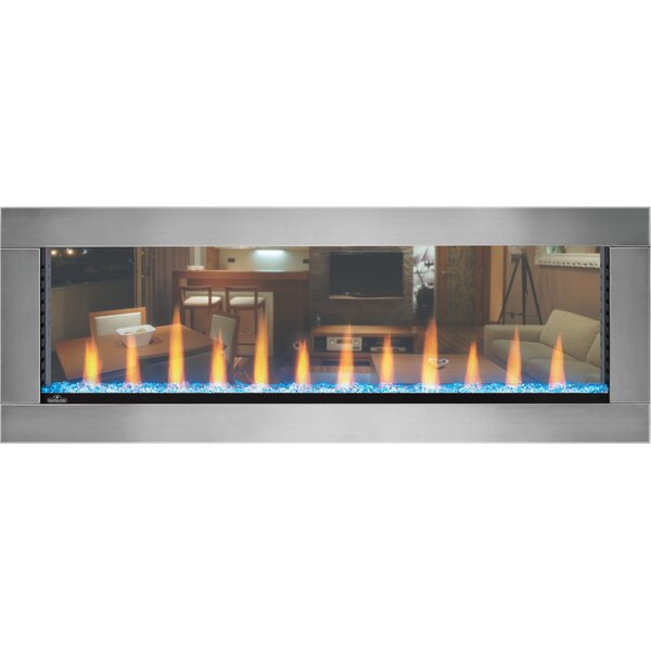 Clearion See Thru Electric Fireplace by Napoleon