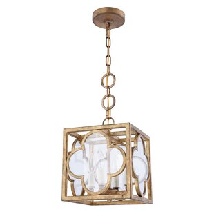 Find Angelo Transitional 4-Light Square/Rectangle Pendant By Bungalow Rose