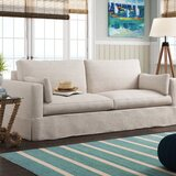Rowley 88.5 Square Arms Sofa by Rosecliff Heights