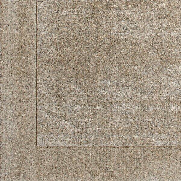 Cruse Hand-Woven Wool Limestone Area Rug by Corrigan Studio
