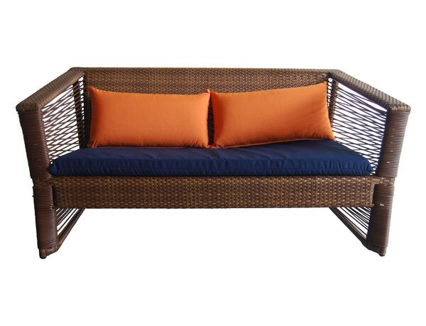 Borneo Loveseat with Cushions by 100 Essentials