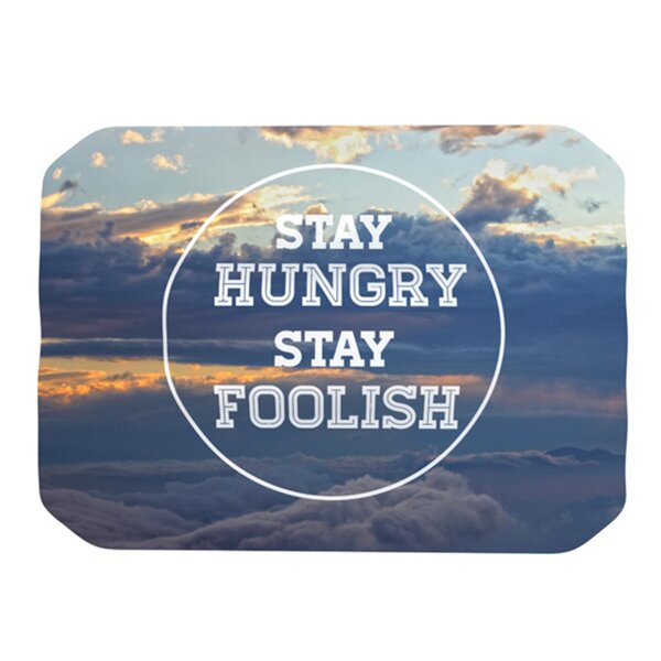 Stay Hungry Placemat by KESS InHouse