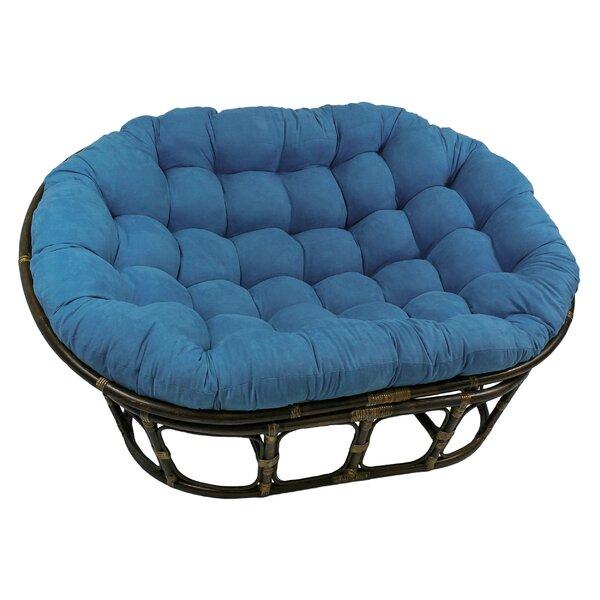 Rattan Double Papasan Chair | Wayfair