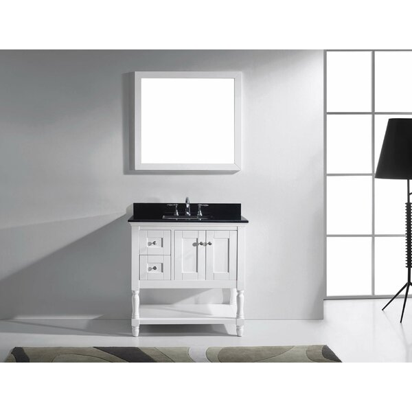 Cicely 35 Single Bathroom Vanity Set with Mirror by Gracie OaksCicely 35 Single Bathroom Vanity Set with Mirror by Gracie Oaks